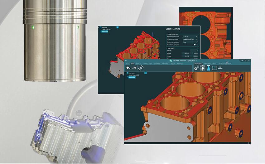 Программное обеспечение для измерения и сканирования детали HxGN NC Measure