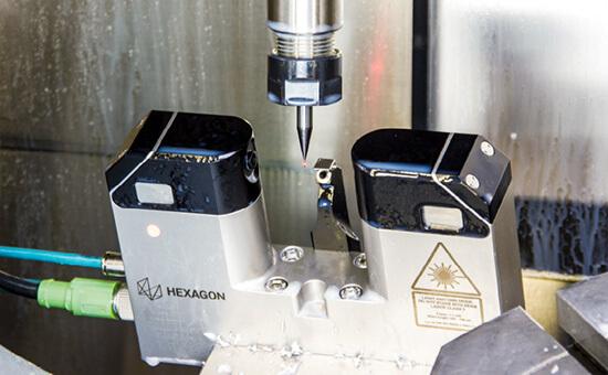 Лазерный датчик измерения детали на станке премиум класса Hexagon LTS35.60