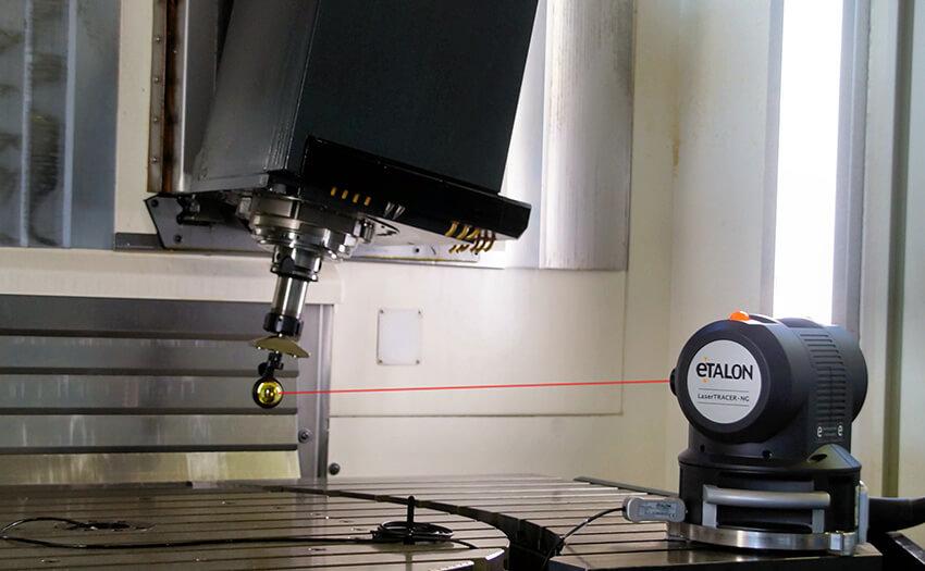 Верификация и калибровка станка при помощи лазерного интерферометра ETALON LaserTRACER-NG