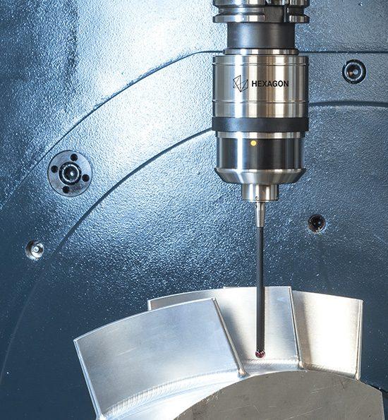 Радиоволновой датчик измерения детали RWP20.50-G-HPP с карбоновым стилусом