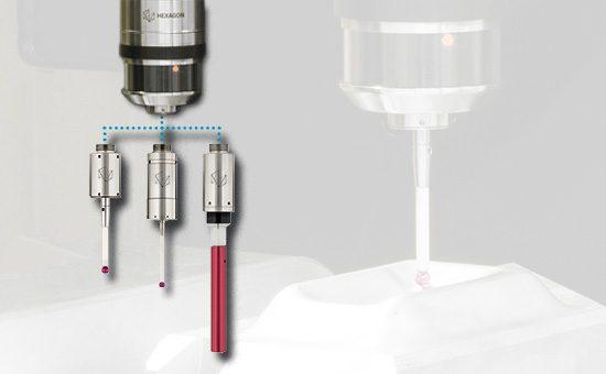 Три измерительных модуля датчика RWP20.50