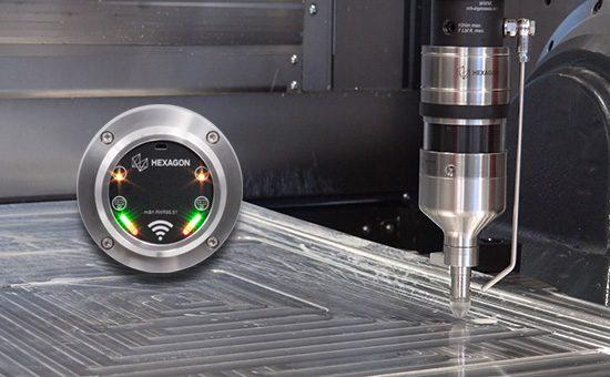RWR95.51 совместим с ультразвуковым датчиком для измерения толщины стенок детали RWP20.50-G-UTP.
