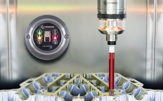 IRR91.50 работает вместе с датчиком температуры детали IRP25.50-TP