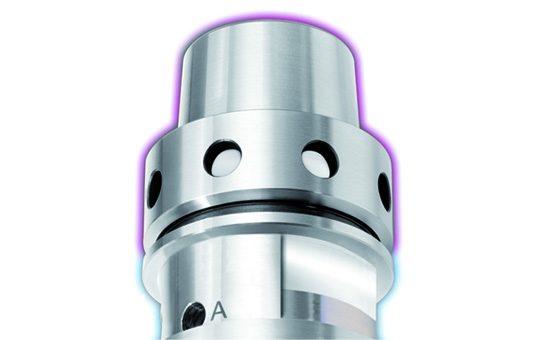 Технология THERMO-LOCK® предотвращает бесконтрольное термическое расширение корпуса и держателя инструмента.