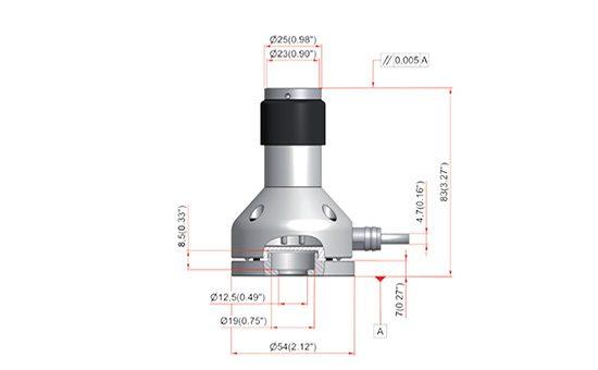 Размеры датчика наладки инструмента TS35.30.